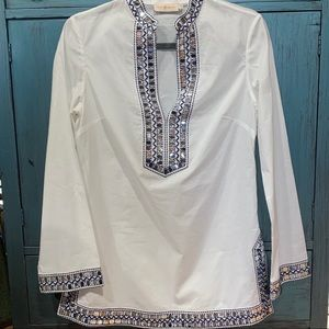 Tory Burch Tunic with Mirrored Sequins